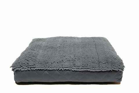 Dirty Dog Rectangle Bed.  Grey