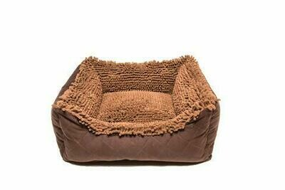 Dirty Dog Lounger Bed.  Brown