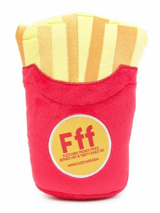 Fuzz Yard Dog Toy - French Fries