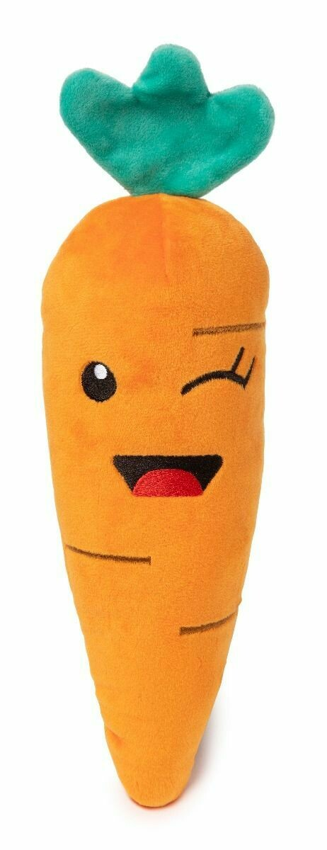 Fuzz Yard Dog Toy - Winky Carrot