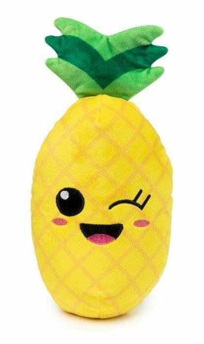 Fuzz Yard Dog Toy - Winky Pineapple