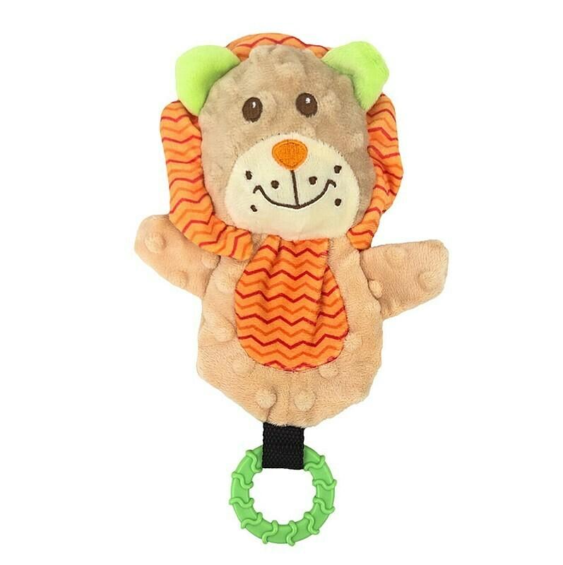 AllPet Snuggle Friend Lion Teether