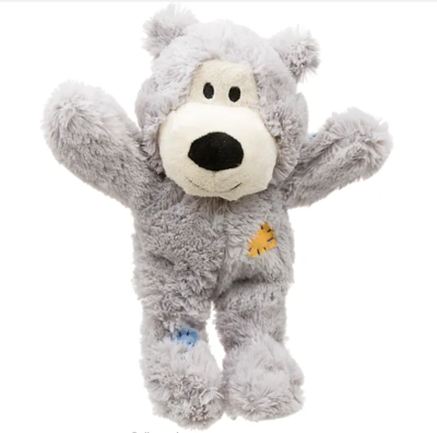 KONG Wild Knots Bear Med/Large - Light Grey
