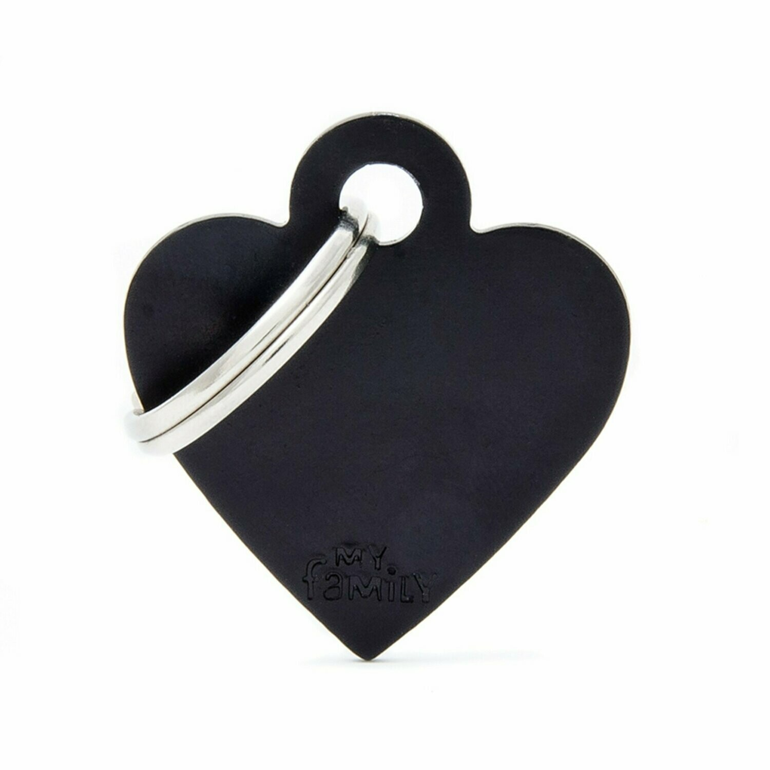 MF Basic Heart Black Small