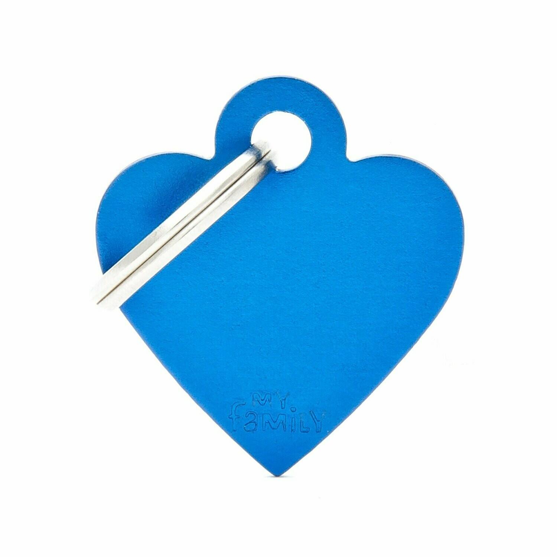MF Basic Heart Blue Small