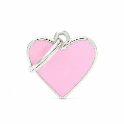 Handmade Heart Pink Small