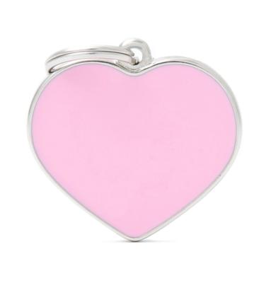 Handmade Heart Pink Large