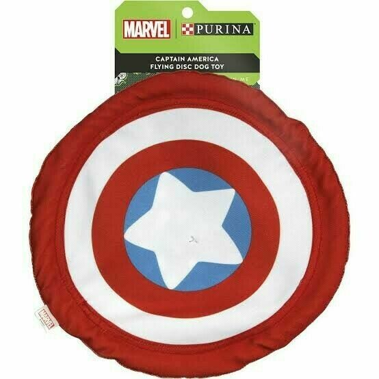 Purina Captain America Flying Disc