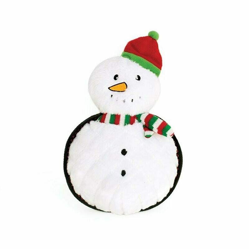 ZippyPaws Holiday Z-Stitch Grunterz Snowman