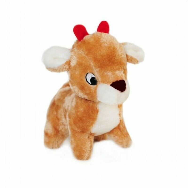 ZippyPaws Holiday Reindeer