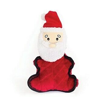 ZippyPaws Holiday Z-Stitch Grunterz Santa