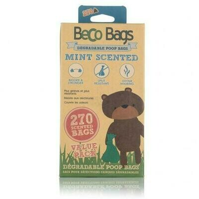 Beco Bags Peppermint Scented 270 Value (18 x 15)