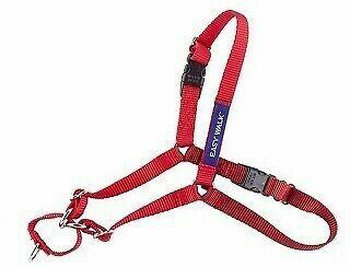 Gentle Leader Easy Walking Harness - Red. Medium-Large Size.