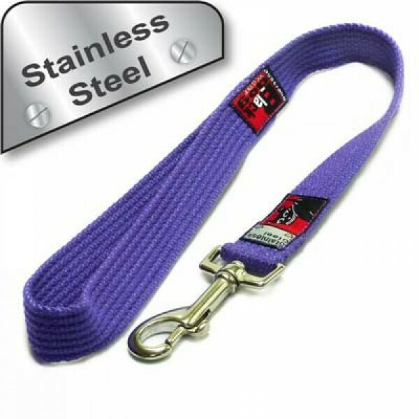 BlackDog Wear Strong Lead Short (0.5 metre) - Stainless Steel