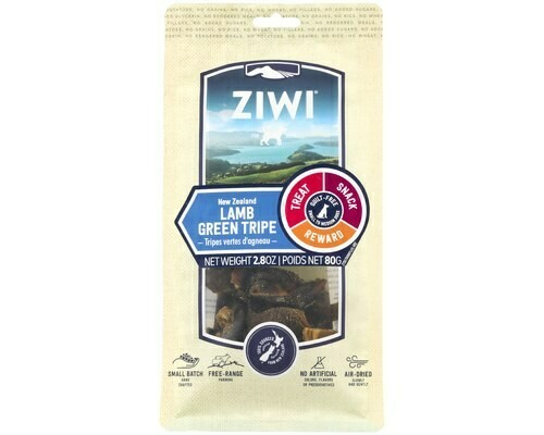 ZiwiPeak Dog Lamb Green Tripe Oral Chew 80 grams.