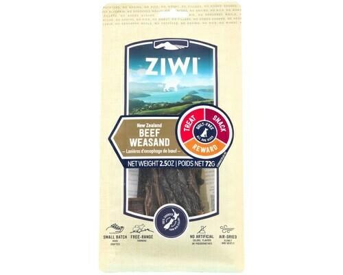 Ziwi Peak Dog Beef Weasand, Oral Chews 70grams.