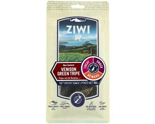 Ziwi Peak Venison Green Tripe, Oral Chew Dog Treats. 70 grams.