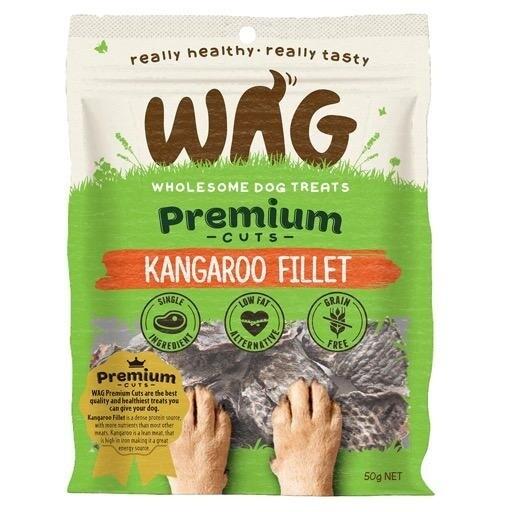 Wag Kangaroo Fillet. 50 grams