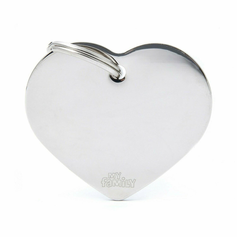 MF Basic Heart Chrome Large.