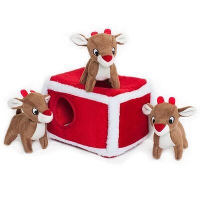 Zippy Paws Holiday Burrow - Reindeers