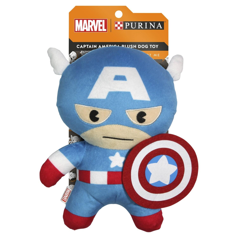 Purina Captain America Plush Dog Toy