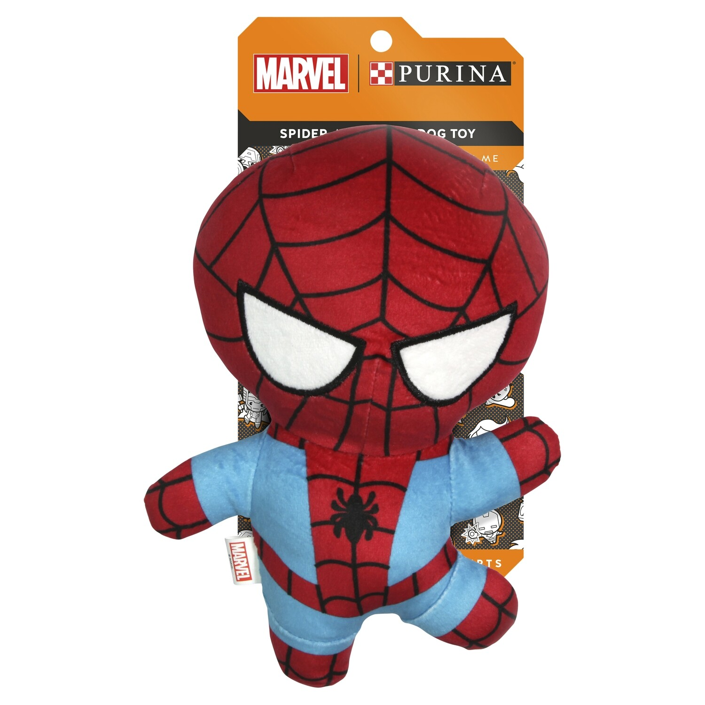 Purina Marvel Spiderman Plush Dog Toy