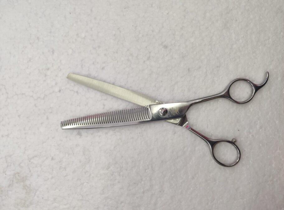 CBS Japanese 65 tooth offset THINNING scissors STRAIGHT