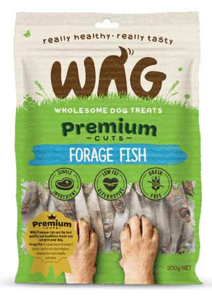 GetWag Forage Fish (200g Bag)