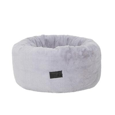 La Doggie Vita - Snow Plush Donut Dog Bed