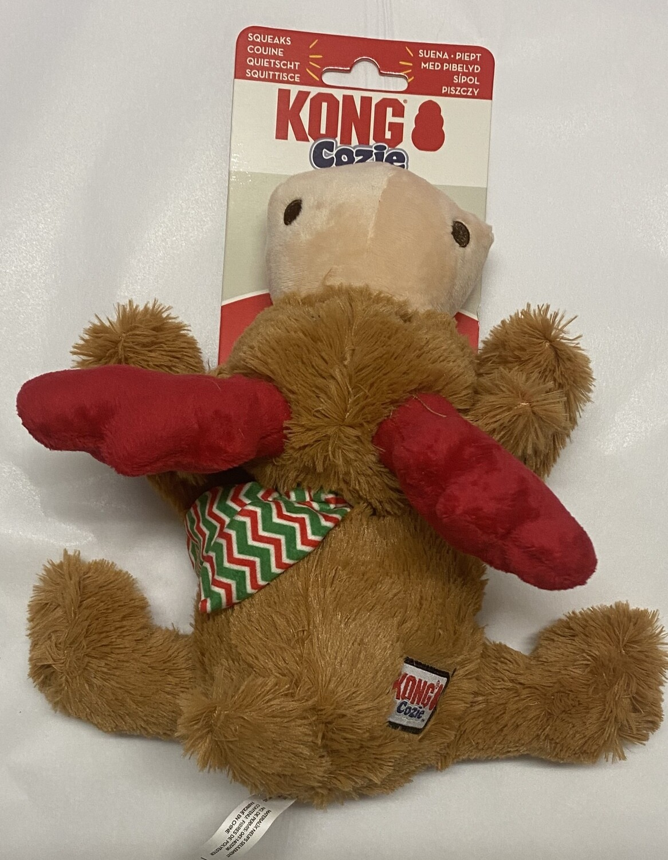 Kong Cozie Reindeer Dog Toy