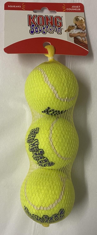 KONG Air Dog Squeaker Balls_ Medium 3 pck