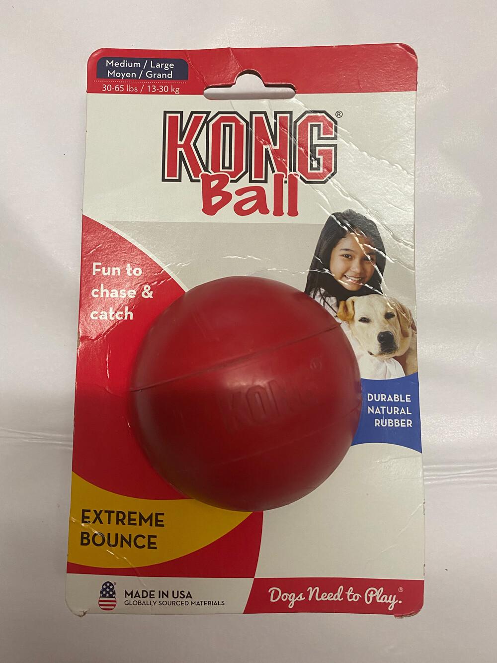 KONG Dog Ball - Medium/ Large