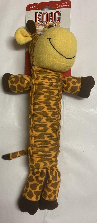 KONG  Dog Bendeez Giraffe_ Small