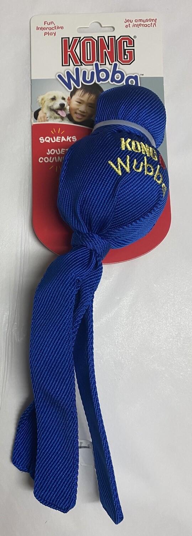 KONG Wubba Dog Toy _large: Blue
