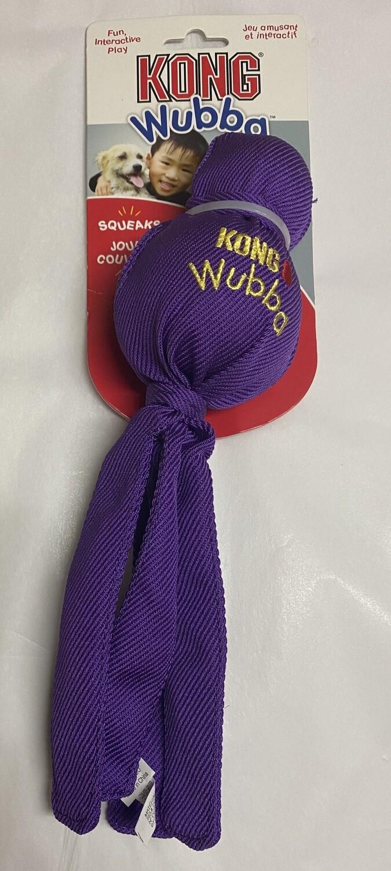 KONG Wubba Dog Toy _large: Purple