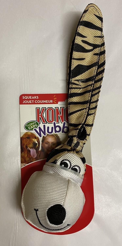Kong Floppy Ear Wubba Tiger - Small