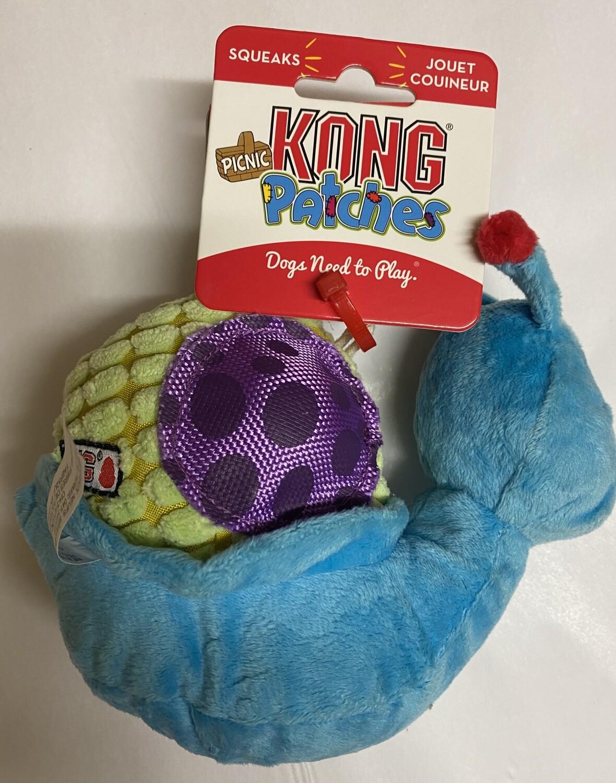 KONG Picnic Patches Snail - Medium/large