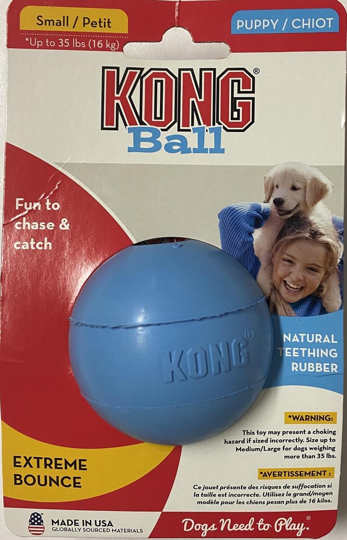 KONG Puppy Ball_Blue. Small.