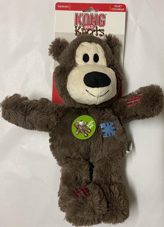 KONG Wild Knots Bear Med/Large - Brown