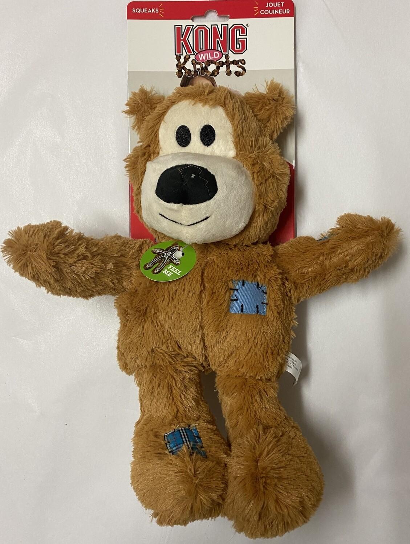 KONG Wild Knots Bear XLarge: Tan