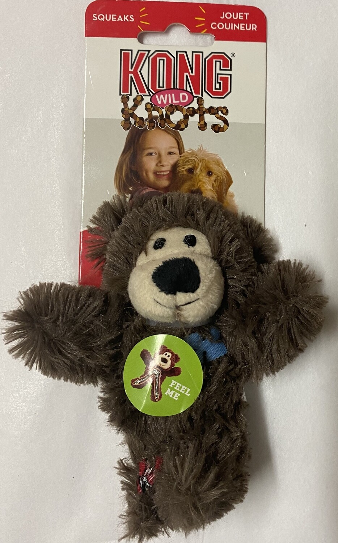 KONG Wild Knots Bear XSmall - BROWN