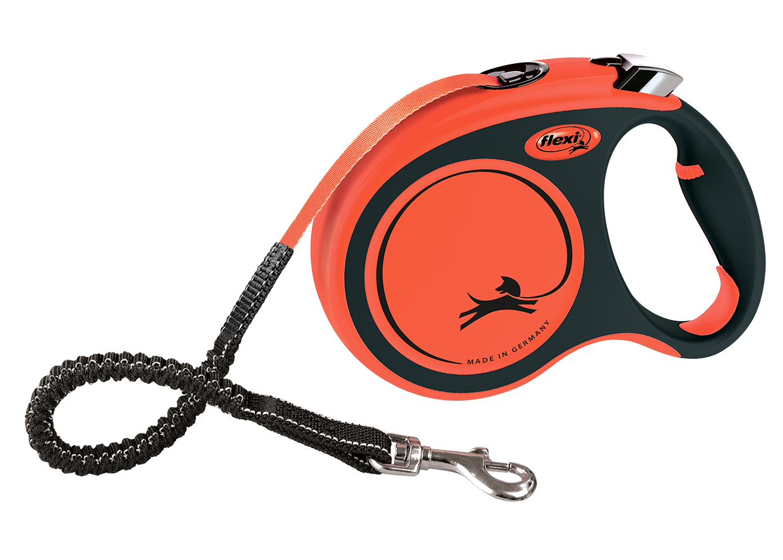 Flexi™ Xtreme Tape Black/Orange Small - 5 metres