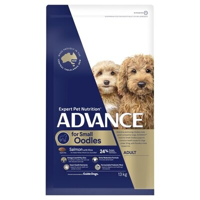 ADVANCE™ Oodles Small Breed Adult Salmon with Rice Dry Dog Food 13kg