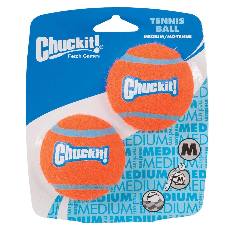 Chuckit Tennis Ball Medium 2 Pack