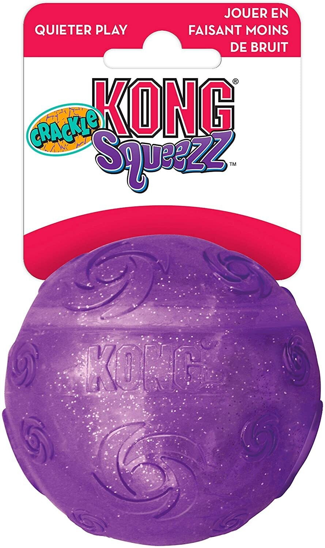 Kong Dog Squeezz crackle ball - medium