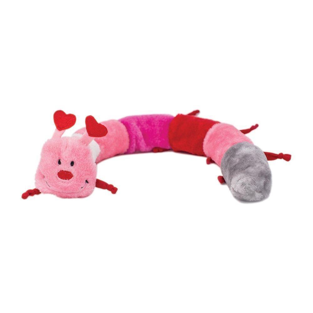 ZippyPaws Valentine's Caterpillar - Deluxe
