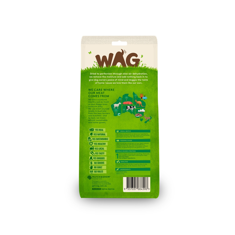GetWag Beef Jerkey (50g Bag)
