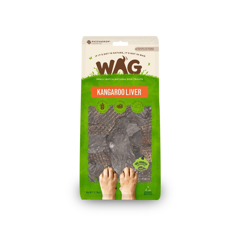 GetWag Kangaroo Liver. (50g Bag)