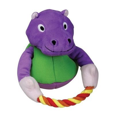 SPL Purple Hippo with Rope