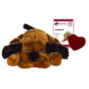 Snuggle Puppy- Brown Mutt